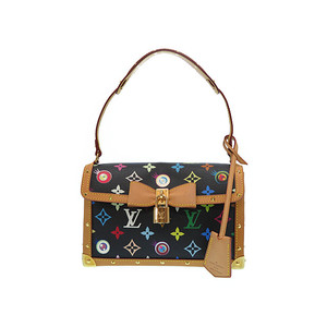 Louis Vuitton Monogram Multicolore M92054 Women's Shoulder Bag Noir