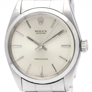 Rolex Oyster Precision Mechanical Stainless Steel Dress Watch 6426