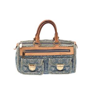 ルイ・ヴィトン(Louis Vuitton) モノグラムデニム ネオ・スピーディ M95019 レディース ハンドバッグ ブルー