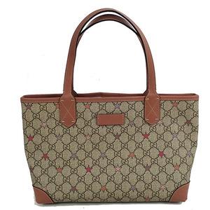 Auth Gucci  GG Supreme Star Tote Bag 309499