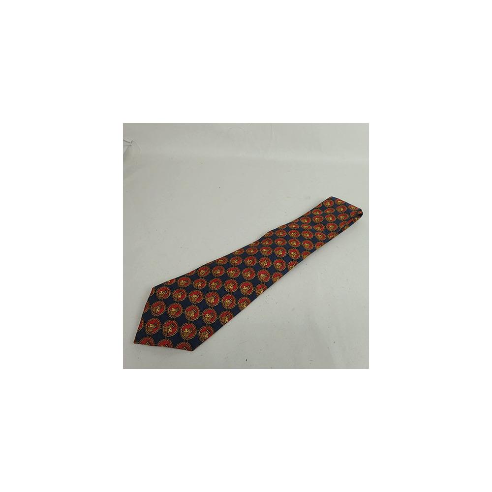 シャネル(Chanel)  ネクタイ ライオン柄 tie Lion pattern