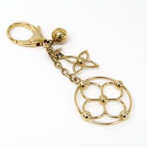 ルイ・ヴィトン(Louis Vuitton) キーホルダー (ゴールド) バッグ チャーム・ブルーミー M67931
