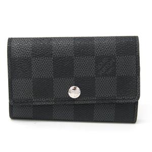 ルイ・ヴィトン(Louis Vuitton) ダミエ・グラフィット メンズ ダミエグラフィット キーケース ダミエ・グラフィット ミュルティクレ6 N62662