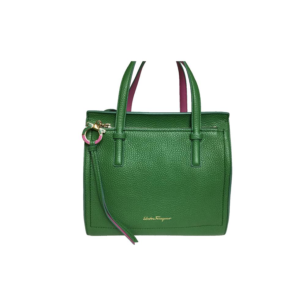 b35485037b5e Salvatore Ferragamo 21F478 AMY Women s Leather Shoulder Bag
