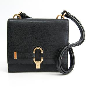 Gucci 005-0802 Women's Leather Handbag Black