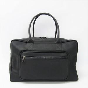 ボッテガ・ヴェネタ(Bottega Veneta) マルコポーロ 130973 メンズ PVC ボストンバッグ ブラック