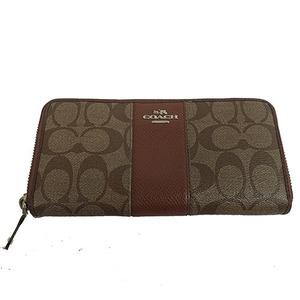 コーチ(Coach) シグネチャー 長財布 Signature long wallet F52859