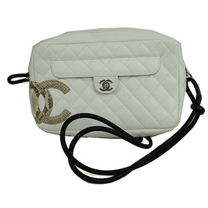 Auth Chanel Cambon Shoulder Bag A28120