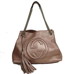 Auth Gucci Soho 27639 Shoulder Bag