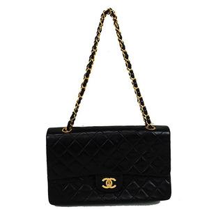 Auth Chanel Matelasse Double Flap Double flap double chain / shoulder bag