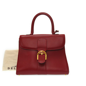 Delvaux Women's Leather Handbag Red