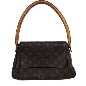 Auth Louis Vuitton Monogram Mini Looping M51147 Handbag,Shoulder Bag