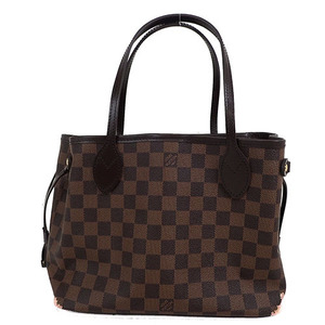 Auth Louis Vuitton Damier Neverfull PM/N41359 Tote Bag