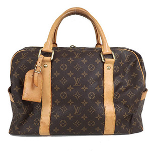 Auth Louis Vuitton Monogram  Carryall M40074 Boston Bag
