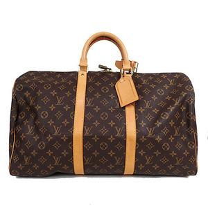 Auth Louis Vuitton Monogram Keepall 50 M41426 Boston Bag