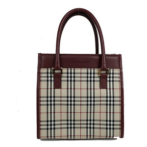 Auth Burberry  Handbag,Tote Bag
