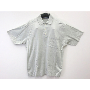 Christian Dior Short Sleeves Polo shirt Cotton Light Green Mens