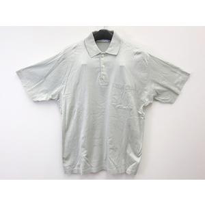 ディオール 半袖ポロシャツ コットン ライトグリーン メンズ