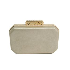 Cartier clutch bag Calfskin / Snake skin gold L1001497