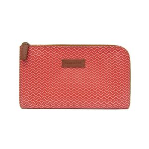 ZANELLATO Mini Clutch Bag PVC/Leather Dark Orange