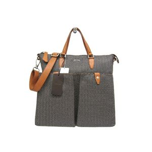 ZANELLATO GIOBATTA Tote Bag PVC/Leather NERO