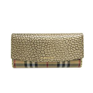 Burberry HORSEFERRY CHECK PORTER CONTINENTAL Wallet 3962879