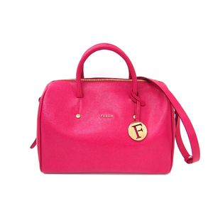 FURLA ALISSA Hand bag Leather Pink