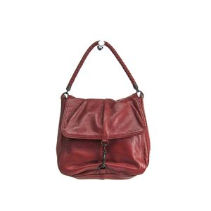 BOTTEGA VENETA Shoulder Bag Intrecciato Calfskin Leather Brown