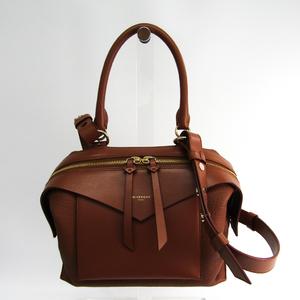 ジバンシィ(Givenchy) スウェイ BB5015B025 レディース レザー ハンドバッグ,ショルダーバッグ ブラウン