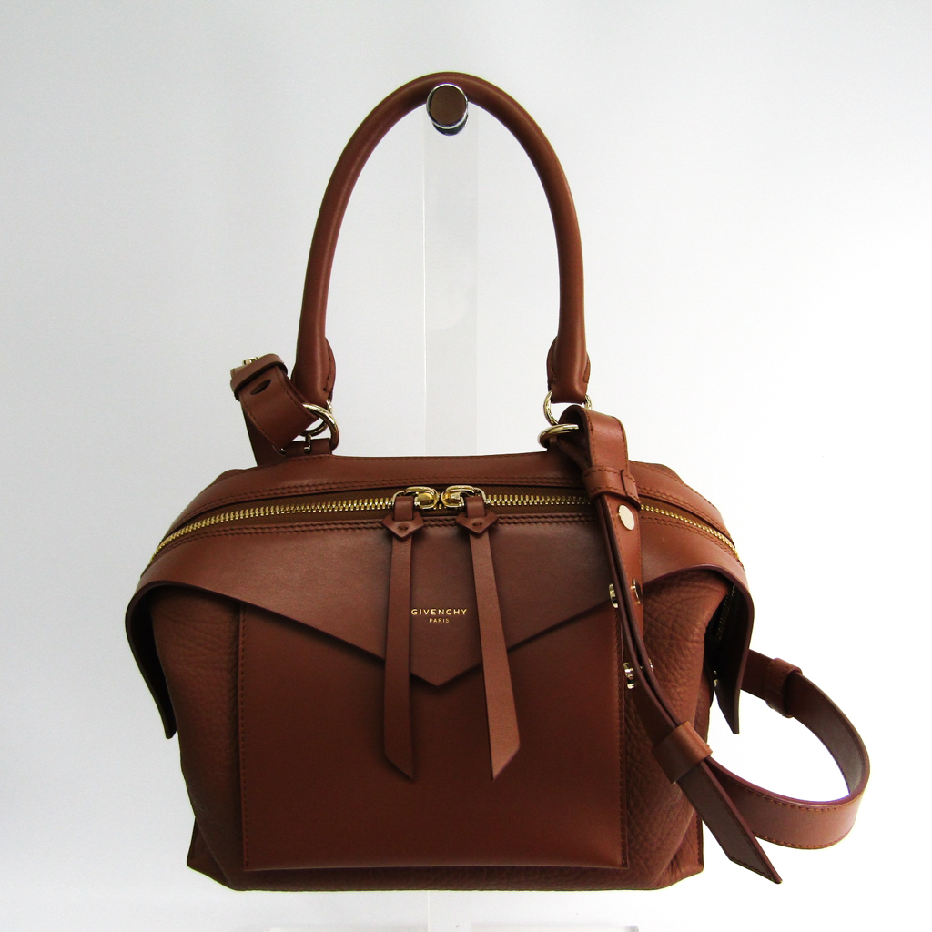 8152edfb21e6 Details about Givenchy Sway BB5015B025 Women s Leather Handbag