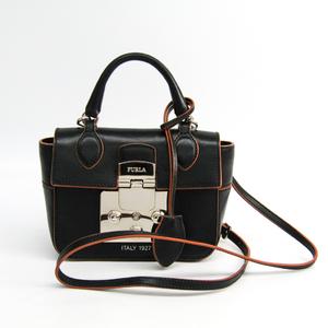 Furla Mantra Mini 921068 Women's Leather Handbag,Shoulder Bag Black