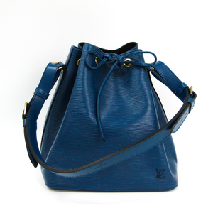 2a2a324505d7 Louis Vuitton Epi Petit Noe M44105 Women s Shoulder Bag Toledo Blue
