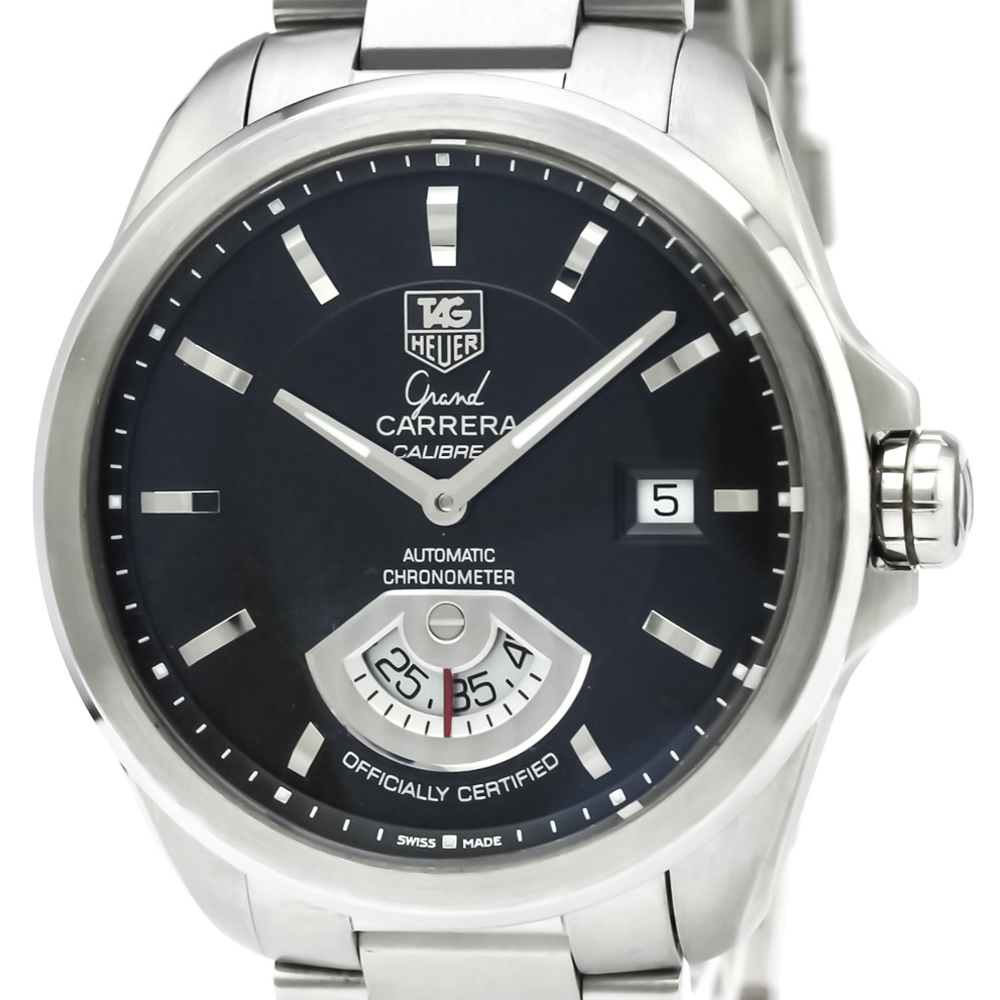 Tag Heuer Grand Carrera Automatic Stainless Steel Men's Sports Watch WAV511A