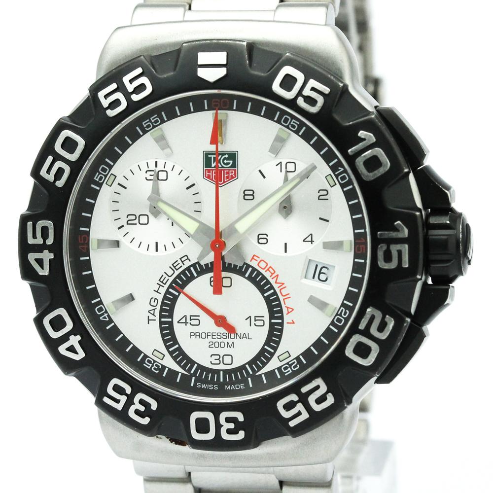 Tag Heuer Formula 1 Quartz Stainless Steel Men's Sports Watch CAH1111