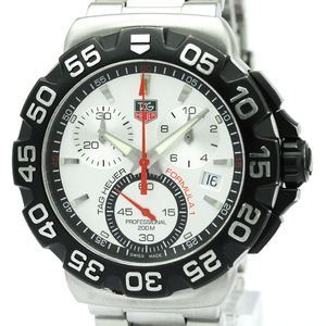 Tag Heuer Formula 1 Quartz Stainless Steel Men's Sports Watch CAH1111