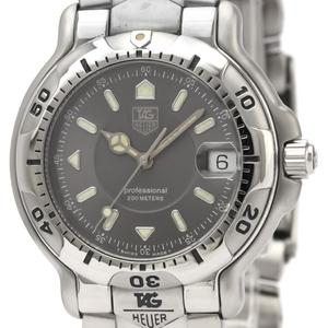 【TAG HEUER】タグホイヤー 6000 プロフェッショナル 200M ステンレススチール クォーツ メンズ 時計 WH1112