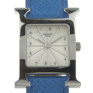 Hermes Hermes H Watch Ladies Quartz Wrist Hh1.210 □ A Engraved