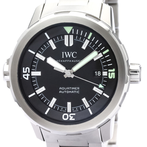 IWC Aqua Timer Stainless Steel Automatic Mens Watch IW329002