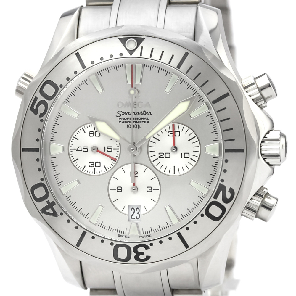 Omega Seamaster Automatic Stainless Steel Men's Sports Watch 2589.30