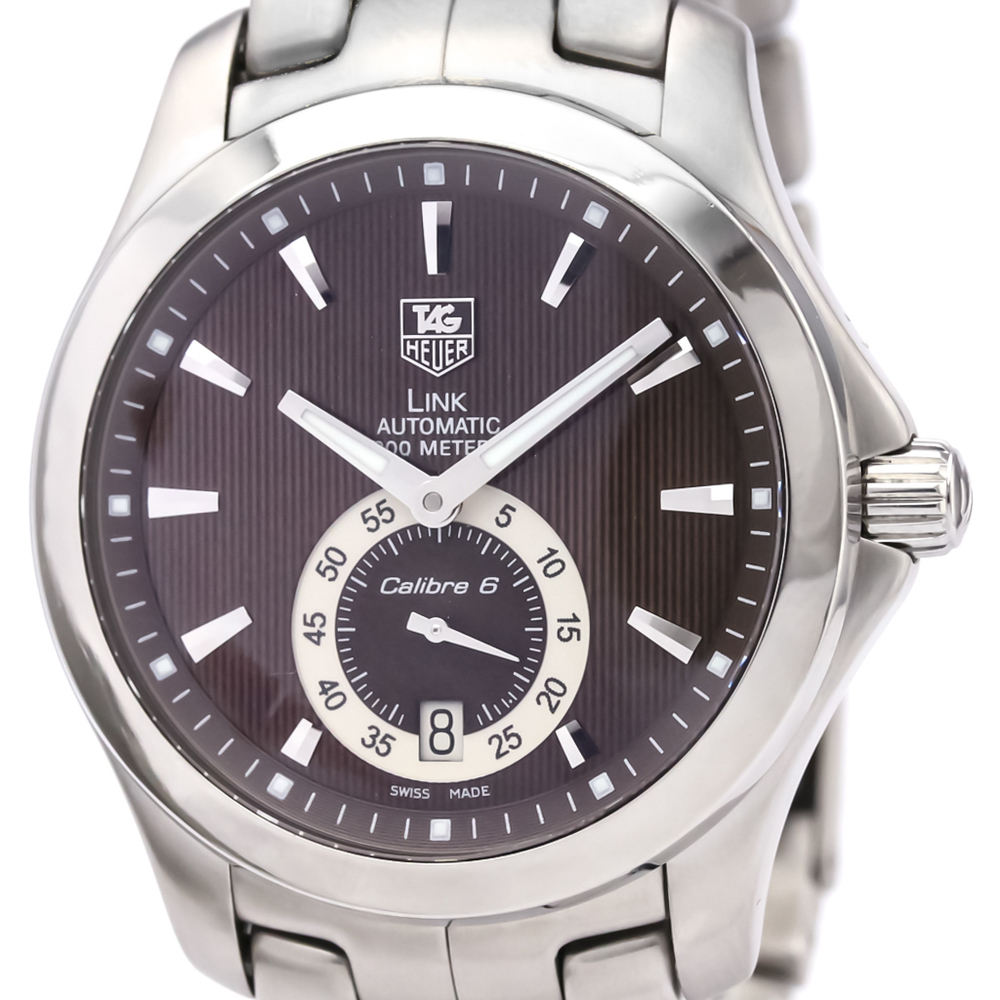 Tag Heuer Link Automatic Stainless Steel Men's Sports Watch WJF211C