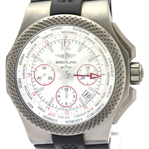 Breitling Bentley Automatic Titanium Men's Sports Watch EB0433