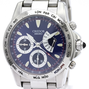 Seiko Credor Automatic Stainless Steel Men's Sports Watch GCBG977(4S77-00A0)