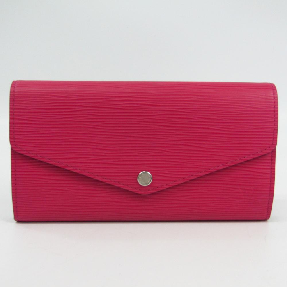 982e17c31838a Louis Vuitton Epi Sarah Wallet M41958 Women s Epi Leather Long Wallet  (bi-fold) Hot Pink