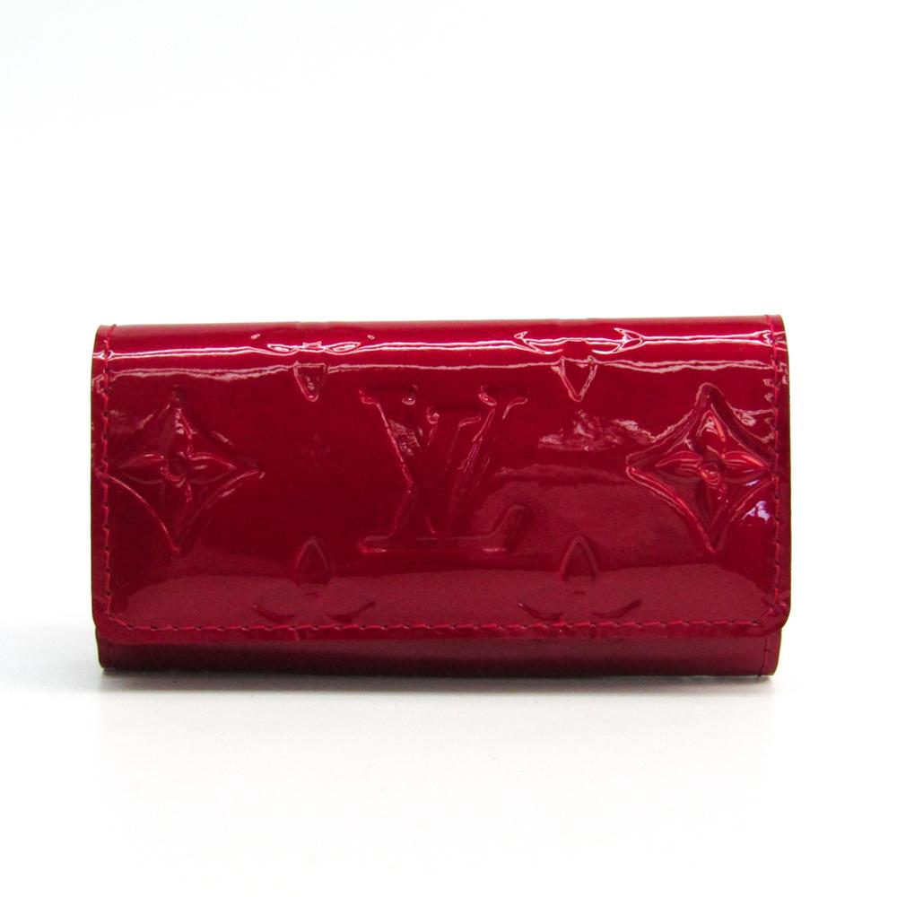 ルイ・ヴィトン(Louis Vuitton) モノグラムヴェルニ レディース モノグラムヴェルニ キーケース ポムダムール ミュルティクレ4 M91976