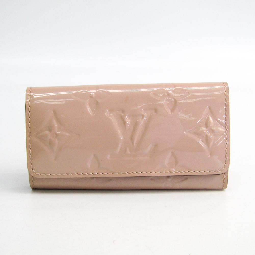 ルイ・ヴィトン(Louis Vuitton) モノグラムヴェルニ レディース モノグラムヴェルニ キーケース ローズアンジェリーク ミュルティクレ4 M90082
