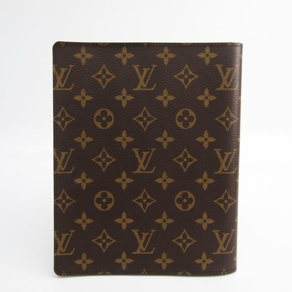 ルイ・ヴィトン(Louis Vuitton) モノグラム A5 手帳 モノグラム アジェンダビューロー R20001