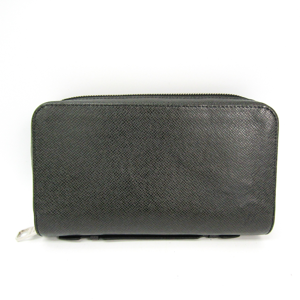 d179f83e519d Details about Louis Vuitton Taiga Zippy XL M42097 Men s Taiga Leather Long  Wallet (bi BF329251