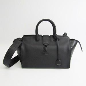 Saint Laurent Downtown Small 436832 Women's Leather Handbag,Shoulder Bag Black