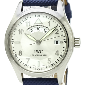 IWC Pilots Spitfire UTC Steel Automatic Mens Watch IW325107