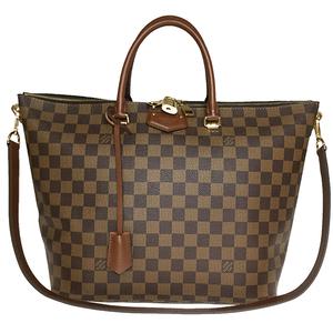 ルイ・ヴィトン(Louis Vuitton) ダミエ N63169 ベルモント レディース ショルダーバッグ ハンドバッグ エベヌ